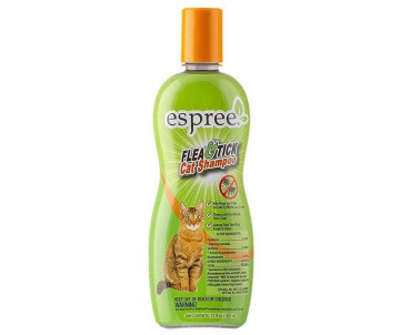 Espree Flea & Tick Cat Shampoo Репеллентный шампунь для котов