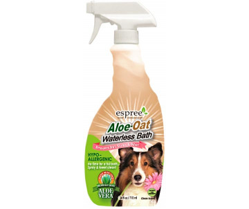 Espree Aloe Oat Waterless Bath Спрей для экспресс чистки для собак