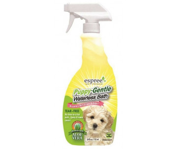 Espree Puppy Waterless Bath Спрей для экспресс-чистки чувствительной кожи и шерсти щенков