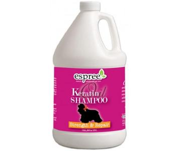 Espree Keratin Oil Shampoo Шампунь с кератиновым маслом для укрепление и восстановление шерсти собак