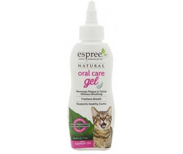 Espree Natural Oral Care Gel Salmon Flavor for cats Гель для ухода за зубами для котов с маслом лосося