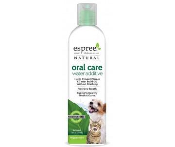 Espree Natural Oral Care Water Additive Добавка для воды с мятой по уходу за ротовой полостью для собак и котов
