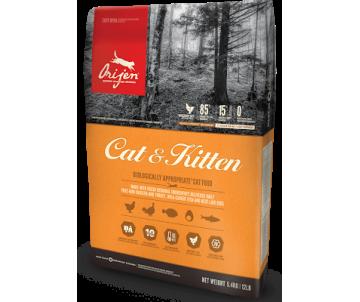 Orijen Cat&Kitten Сухой корм для молодых и взрослых кошек всех пород