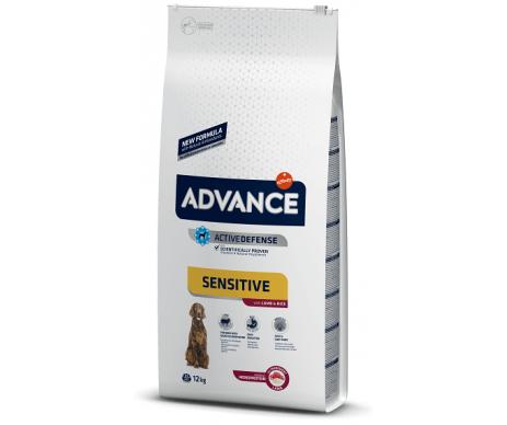 Advance Dog Sensitive Medium Maxi Lamb Rice
