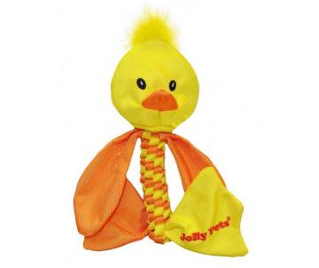 Jolly Pets TUG-A-MAL Duck Игрушка-пищалка для перетягивания