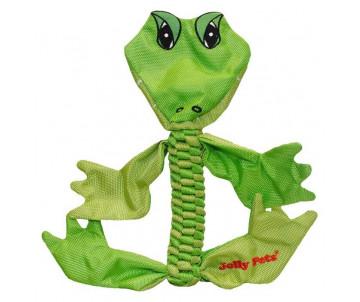 Jolly Pets FLATHEADS Alligator Игрушка-пищалка для перетягивания