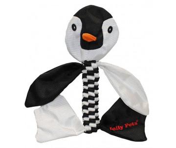 Jolly Pets TUG-A-MAL Penguin Игрушка-пищалка для перетягивания