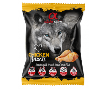 Alpha Spirit DOG Snacks Chicken