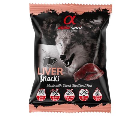 Alpha Spirit DOG Snacks Liver