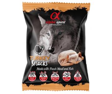 Alpha Spirit DOG Snacks Turkey
