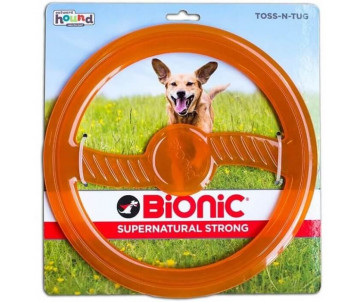 Petstages Bionic Opaque Toss-N-Tug Org