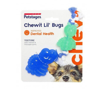 Petstages Chewit Lil Bugs