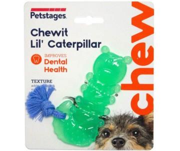 Petstages Chewit - Lil' Caterpillar Игрушка для собак гусеница