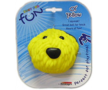 Petstages Ol Yellow Желтая собака виниловая