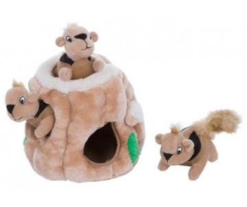 Petstages Outward Hound Hide-A-Squirrel Игрушка интерактивная для собак
