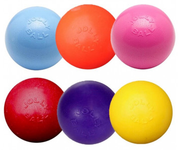 Jolly Pets Bounce-n-Play М Игрушка для собак мяч М