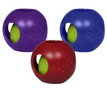 Jolly Pets TEASER BALL S Игрушка мяч двойной для собак