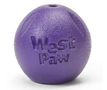 West Paw Rando Large Eggplant Игрушка-мяч для собак