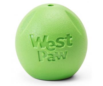 West Paw Rando Jungle Green Игрушка-мяч для собак