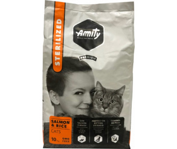 AMITY Cat Sterilized Salmon