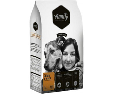 Amity Dog Adult Lamb Rice