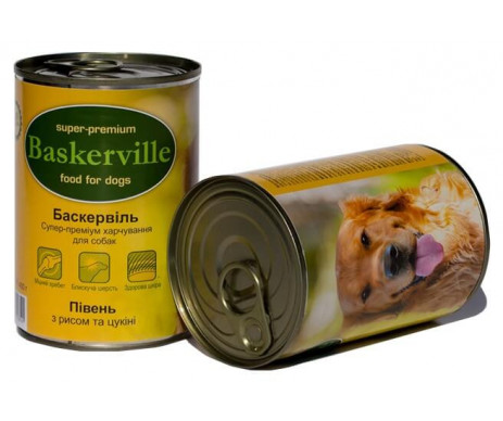 Baskerville Dog Adult chicken Wet