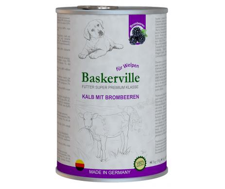Baskerville Super Premium Kalb Mit Brombeeren Puppy