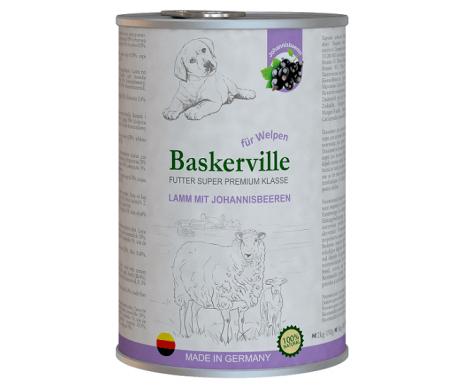 Baskerville Super Premium Lamm Mit Johannisbeeren Влажный корм для щенков, ягненок и смородина