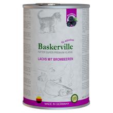 Baskerville Kitten Super Premium Lachs Mit Brombeeren