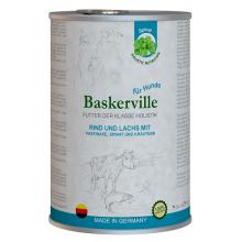 Baskerville Holistic Dog Adult Rind und Lachs Wet