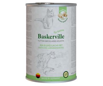 Baskerville Cat Holistic Kalb und Lachs