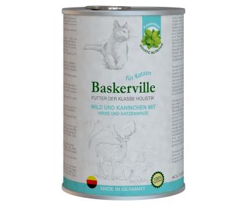 Baskerville Holistic Cat Adult Wild und Kaninchen Wet