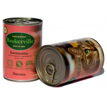Baskerville Cat Adult Salmon Wet