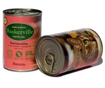Baskerville Cat Salmon Wet