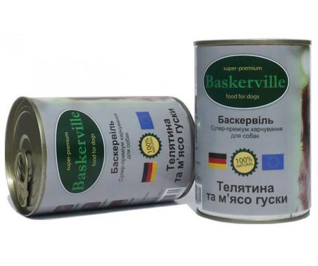 Baskerville Dog Adult veal Wet