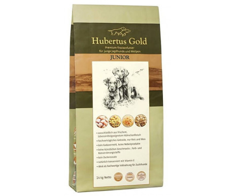 Hubertus Gold JUNIOR Сухой корм для щенков (14кг)