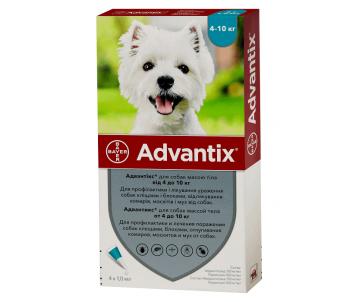 Advantix капли от блох и клещей для собак