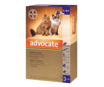 Bayer Advocate капли против паразитов для котов