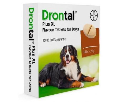 Bayer Drontal XL таблетки от глистов для собак со вкусом говядины