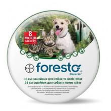 Bayer Foresto ошейник от блох и клещей для собак и котов