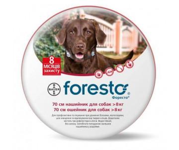 Foresto ошейник от блох и клещей для собак и котов