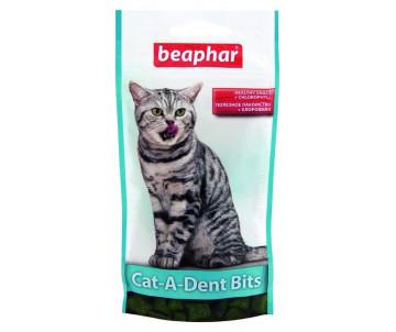 Beaphar Cat-A-Dent Bits Подушечки для чистки зубов у кошек
