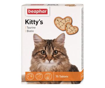 Beaphar Kittys + Taurin Лакомство для кошек с таурином