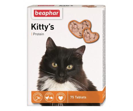 Beaphar Kittys + Protein Кормовая добавка с протеином для кошек