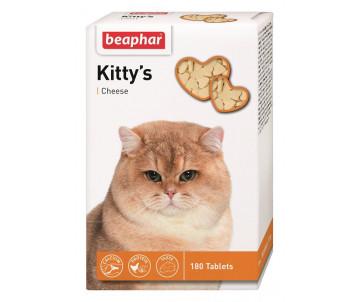 Beaphar Kittys + Cheese Кормовая добавка для кошек
