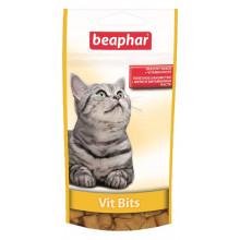 Beaphar Vit-Bits Подушечки с мультивитаминной пастой для кошек