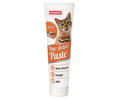 Beaphar Duo Active Paste Мультивитаминная паста для кошек