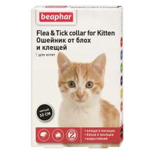 Beaphar Ошейник против блох и клещей для котят