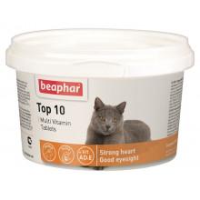 Beaphar Top 10 cat Мультивитамины для кошек