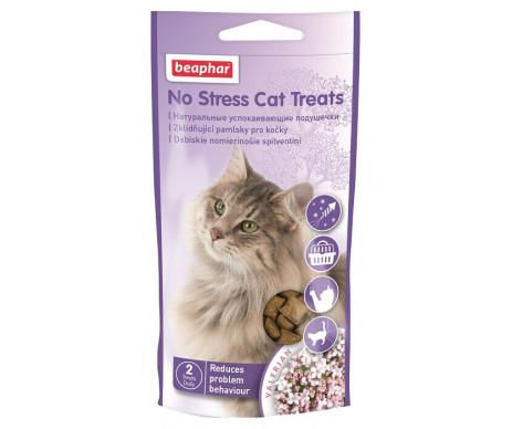 Beaphar NO STRESS CAT TREATS Успокоительные подушечки для котов